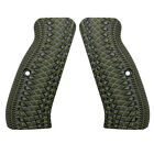 G10 Slim Gun Grips For Cz 75 Full Size Snake Scale Texture Coolhand H6-2