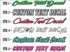 Windshield Custom Lettering 42 Vinyl Vehicle Business Decal Window Sticker
