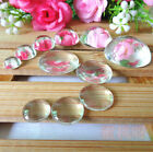 Epoxy Accessories Diy Necklace Resin Craft Molds 18 20 25 30 Mm Oval Hemisphere