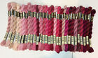 Dmc Perle Cotton- Size 3 - Choose From 29 Colors In The Pink To Burgundy Family