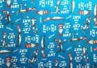 The Cat In The Hat Kaufman Dr Seuss 100 Cotton Quilting Apparel Bty T53
