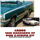 Sp A600 1968 Ford Ranchero Gt - Side C-stripe Kit - Decal