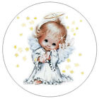 4896144 Angel And Stars Envelope Seals Labels Stickers - Optional Sizes