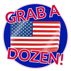 American Flag Decal Pack Of 12 Stickers United States Us Usa America Merica