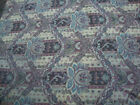 Chenille Floral Stripe Tapestry Upholstery Fabric Sage Green Plum Beige Mauve