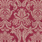 Red Burgundy Blue Green Gold Beige Fabric Damask Brocade Upholstery Drapery Il9
