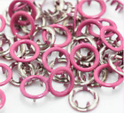 Metal Prong Ring Snap Fasteners Press Studs Poppers 9.5mm 1050set
