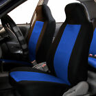 Fabric Mesh Style Pair High-back Bucket Seat Covers