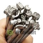 Vintage Leather Craft Tools Set Stitching Sewing Hole Graving Punch Hand Kits Us