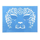 Reusable Face Paint Airbrush Tattoo Stencils Body Painting Makeup Template