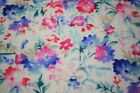 Floral Petals Swiss Dot 100 Cotton Lawn Sheer Apparel Embroidered Fabric 43w