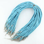 Lots Soft Velvet Korea Frosting Cord Thread Silver Adjustable Chain Necklace 20