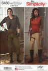 Star Wars Alliance Jyn Erso Costume Sewing Pattern Simplicity 8480 Sizes 6-24