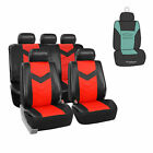 Synthetic Leather Car Seat Covers For Auto With Accessories Free Gift