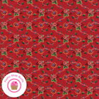 Moda Provencal 21737 13 Red Floral American Jane Quilt Fabric French