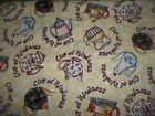 Coffee Tea Beans Cups Bty Cotton Quilt Fabric U-pick See Listing For Details