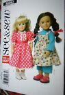 Choose 1 Doll Clothes Pattern 18 Doll 11.5 Doll 12-14 16-18 20-22 Baby Doll