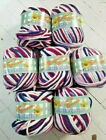 Yarn Lots Sugar N Cream Crafters Cotton 100 - Ombre-super Bulky-discontinued