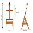 Portable Artist Painting Wood Case Box Easel Stand Display Boards Supplies