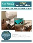 Elna Sew Steady Versa Table 16 X 13.5 Or Extend To 16 X 27