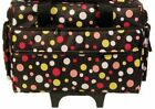 Bluefig Wheeled Sewing Machine Case Fits New Bernina B200 Series 215 Simply Red