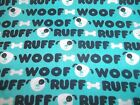 Dogs Puppy Bones Paw Bty Cotton Quilt Fabric You Pick Read Desciption For Info