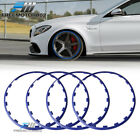 Heavy Duty Wheel Guard Rim Protecting Trim Ring 19inch Red White Blue