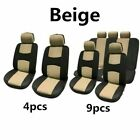 49pcsset Universal Car Seat Cover Auto Front Pad Breathable Protector Seat Mat