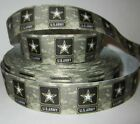Army Marines Air Force Navy 1 78 Grosgrain Ribbon For Hair Bows Crafts