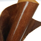 New Brown Cowhide Tooling Leather Piece Pre-cut For Arts Crafts 12x12 Inch