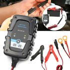 12v 6v Auto Trickle Battery Charger Maintainer For Tender Car Motorcycle Boat Us