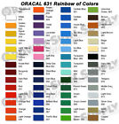 Oracal 631 Matte Removable Silhouette Cameo Graphic Vinyl Film Sheets Roll