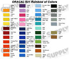 Silhouette Cameo Oracal 631 Matte Removable Graphic Vinyl Film Sheets Roll