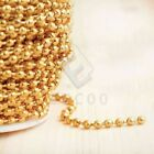 4m 13.12feet Unfinished Ball Chain Bulk Necklace Jewelry Making Findings Lots Yb