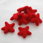100 Wool Felt Stars - 100 Felted Stars - Pick Mix From 90 Colours