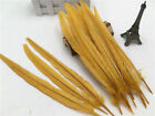 Hot Beautiful 2-100pcs Natural Pheasant Tail Feathers 10-12 Inches 25-30cm