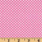 Cuddle Prints Flannel Fabric Pink Dots Baby Girl Premium Cotton