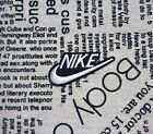 For Nike Sport Logo Iron On Patch Embroidered Sew On Applique Clothing Badge New