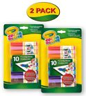 Crayola Color Wonder Markers 10 Count Mess Free Coloringgift For Kids Age 3