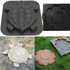 Turtle Stepping Stone Mold Concrete Cement Mould Tortoise Garden Path Anti Slip