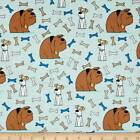 Secret Life Of Pets Dogs And Bones Fabric Out Of Print Last Yard Premium Cotton