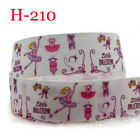 2-5-10 Yards Happy Birthday Printed Grosgrain Ribbon Polyester Hair Bows Unique