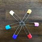 Safety Locking Baby Cloth Diaper Nappy Pins