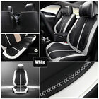 Luxury 6d 5 Seat Pu Leather Car Seat Cover Cushion Pad Surround Breathable