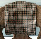 Vintage 1960s 70s Plaid Wool Fabric 60 Inches Wide New Old Stock