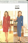 Butterick 4142 Misses Easy Mock Wrap Dress Sewing Pattern Size 18 20 22