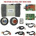 Mb Star C3 Full Set With 5 Cables Auto Diagnostic Tool Hdd Laptop