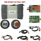 Mb Star C3 Full Set With 5 Cables Mercedes Benz Auto Diagnostic Tool Hdd Laptop