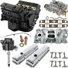 Jegs 5658k3 Small Block Chevy 355ci Crate Engine Kit Pre-1986 Cast Iron Cylinder