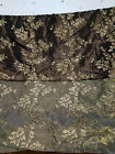 Two Tone Embroidered 100 Poly Taffeta Silk Like Fabric 58 Wide Sold By Yard.